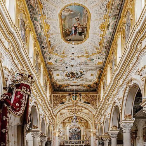 義大利馬泰拉 Matera必玩 - Basilica Pontificia Cattedrale di Maria Santissima della Bruna e Sant'Eustachio = Duomo di Matera 馬泰拉主教座堂