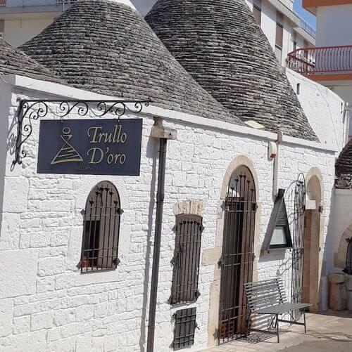 義大利阿爾貝羅貝洛 Alberobello (巴里方言 Ajarubbédde)必吃 - Ristorante Trullo D'Oro