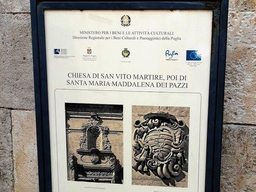 義大利奧斯圖尼 Ostuni (巴里方言 Ostune)必玩 - Chiesa Rettoria San Vito Martire 聖維托·馬蒂爾教堂