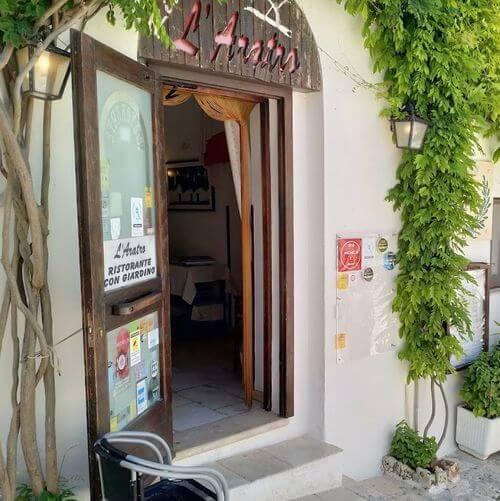 "義大利阿爾貝羅貝洛 Alberobello (巴里方言 Ajarubbédde)必吃 - Ristorante ""L'Aratro"" di Domenico Laera"