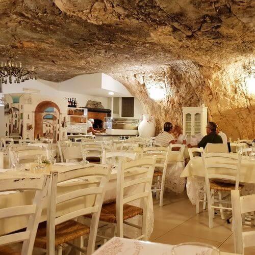 義大利奧斯圖尼 Ostuni (巴里方言 Ostune)必吃 - Ristorante la Grotta degli Avi