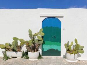 義大利奧斯圖尼 Ostuni (巴里方言 Ostune)必玩 - Porta del Paradiso = Porta Blu 天堂之門 = 藍色大門