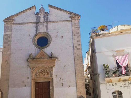 義大利奧斯圖尼 Ostuni (巴里方言 Ostune)必玩 - Chiesa Rettoria dello Spirito Santo 斯皮里托·聖托教堂