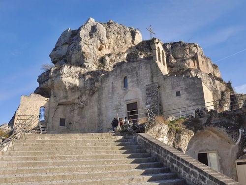 義大利馬泰拉 Matera必玩 -Chiesa Rupestre di Santa Maria di Idris 聖瑪麗亞·德·伊德里斯石窟教堂