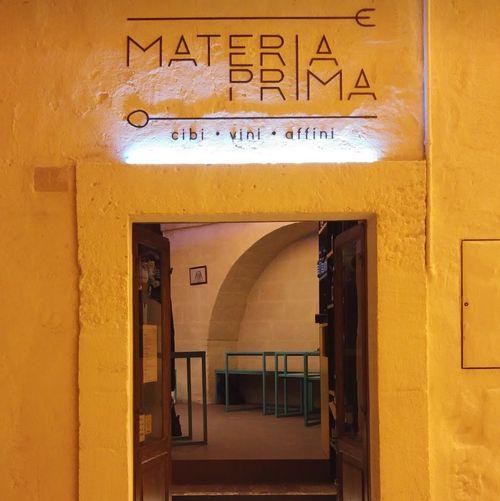義大利馬泰拉 Matera必吃 -Materia Prima Bistrot