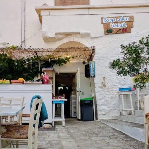 義大利奧斯圖尼 Ostuni (巴里方言 Ostune)必吃 - Borgo Antico Bistrot