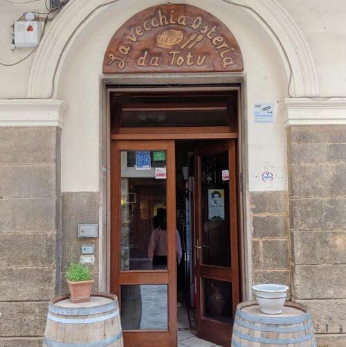義大利萊切 = 萊可仕 = 雷契 Lecce 必吃 - La Vecchia Osteria da Totu