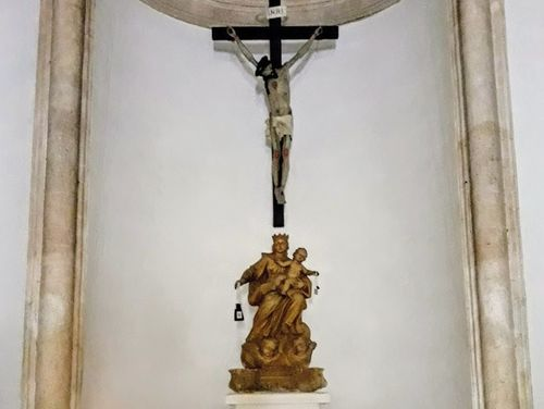 義大利奧斯圖尼 Ostuni (巴里方言 Ostune)必玩 - Confraternita del Carmine 脂紅教堂
