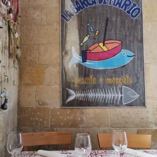 義大利萊切 = 萊可仕 = 雷契 Lecce 必吃 - La barca di Mario