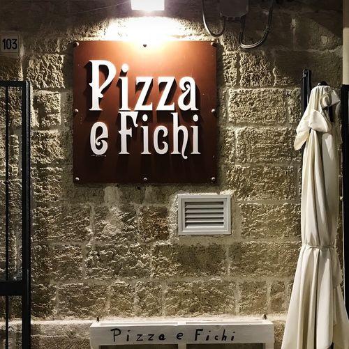 義大利波利尼亞諾·阿·馬雷 Polignano a Mare (巴里方言 Peghegnéne a Mare)必吃 - Pizza & Fichi Braceria Pizzeria