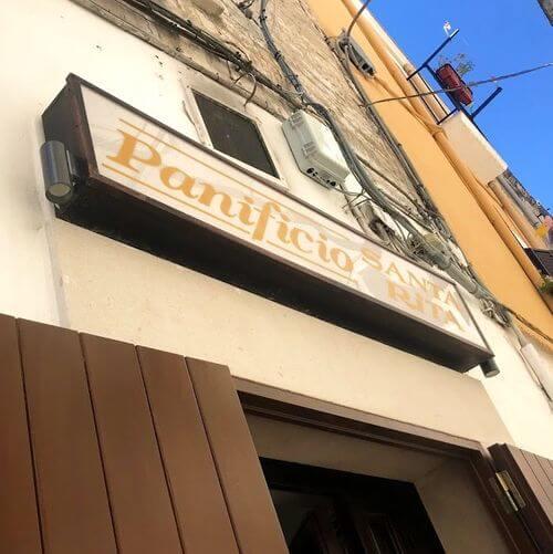 義大利巴里 Bari (巴里方言 Bare) 必吃 - Panificio Santa Rita - Bari