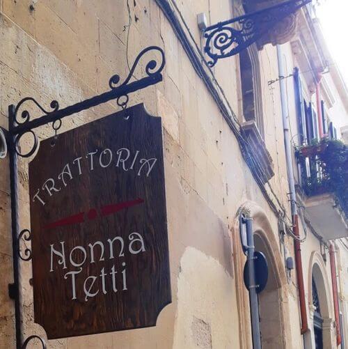 義大利萊切 = 萊可仕 = 雷契 Lecce 必吃 - Trattoria Nonna Tetti