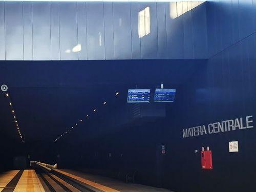 義大利馬泰拉 Matera必玩 -Stazione di Matera Centrale 馬泰拉中央車站