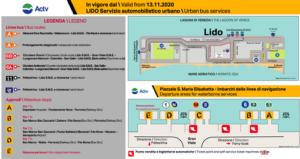 義大利威尼斯 Venice (威尼斯方言 Venezia) - ACTV Lido Urban bus services