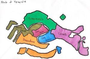 義大利威尼斯 Venice (威尼斯方言 Venezia) - Isola di Venezia 威尼斯 6 小區 sestiere