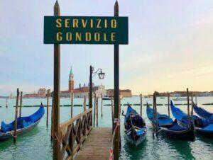 義大利威尼斯 Venice (威尼斯方言 Venezia) - Gondola (複 Gondole) 貢多拉