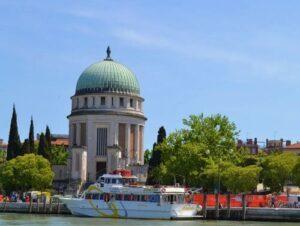 義大利威尼斯 Venice 麗都島 Isola di Lido (= Lido di Venezi) 必玩 - Tempio Votivo della Pace di Venezia 奉獻神廟