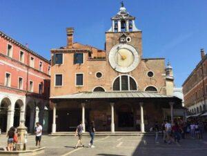義大利威尼斯 Venice 聖保羅區 Sestiere San Polo 必玩 - Chiesa di San Giacomo di Rialto 里奧多·聖雅各伯教堂 = 聖賈科莫·迪·里亞托教堂