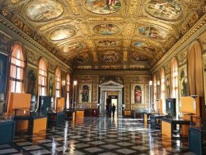 義大利威尼斯 Venice 聖馬可區 Sestiere San Marco 必玩 - Biblioteca Nazionale Marciana 聖馬可圖書館