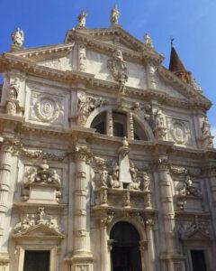 義大利威尼斯 Venice 聖馬可區 Sestiere San Marco 必玩 - Chiesa di San Moisè 聖梅瑟堂