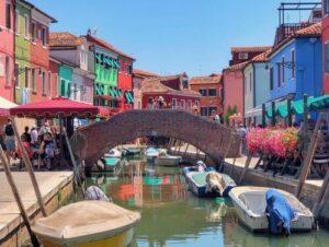 義大利威尼斯 Venice 布拉諾島 Isola di Burano 必玩 - Ponte di Embarcadero 橋