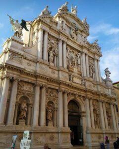 義大利威尼斯 Venice 聖馬可區 Sestiere San Marco 必玩 - Chiesa di Santa Maria del Giglio 百合聖母教堂