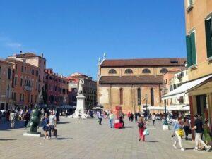 義大利威尼斯 Venice 聖馬可區 Sestiere San Marco 必玩 - Chiesa di Santo Stefano 聖斯德望堂