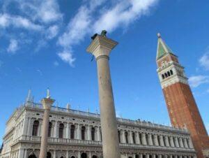 義大利威尼斯 Venice 聖馬可區 Sestiere San Marco 必玩 - Colonna di San Marco 威尼斯官方城門