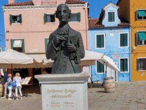 義大利威尼斯 Venice 布拉諾島 Isola di Burano 必玩 -Piazza Baldassarre Galuppi 巴爾達薩雷·加盧皮廣場