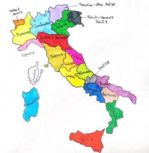 Italy 義大利行政區