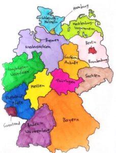 Germany 德國邦區