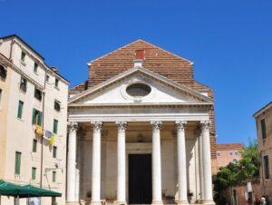 義大利威尼斯 Venice 聖十字區 Sestiere Santa Croce 必玩 - Chiesa di San Nicola da Tolentino 聖尼各老堂 = 聖尼古拉·達·托倫蒂諾教堂