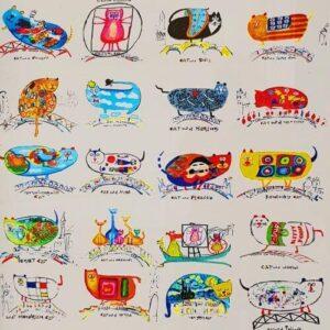義大利威尼斯 Venice 卡納雷吉歐區 Sestiere Cannaregio 必玩 - The Studio in Venice by Allon Baker and Michal Meron 畫廊