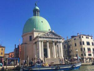 義大利威尼斯 Venice 聖十字區 Sestiere Santa Croce 必玩 - Chiesa di San Simeon Piccolo 小聖西門教堂