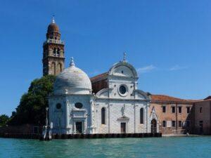 義大利威尼斯 Venice 卡納雷吉歐區 Sestiere Cannaregio 必玩 - Chiesa di San Michele in Isola 島上聖彌額爾堂