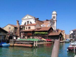 義大利威尼斯 Venice 多爾索杜羅區 Sestiere Dorsoduro 必玩 - Squero di San Trovaso 聖特羅瓦索造船廠