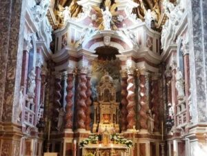 義大利威尼斯 Venice 卡納雷吉歐區 Sestiere Cannaregio 必玩 - Chiesa di Santa Maria di Nazareth = Chiesa degli Scalzi 聖﹒瑪麗亞﹒拿撒勒教堂 (赤腳教堂)