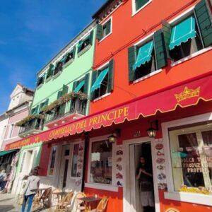 義大利威尼斯 Venice 布拉諾島 Isola di Burano 必吃 - Ristorante Pizzeria Principe