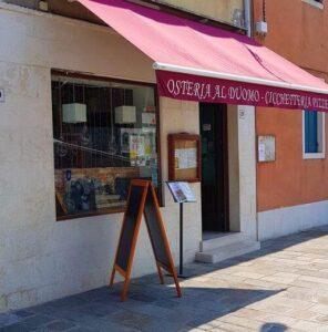 義大利威尼斯 Venice 穆拉諾島 Isola di Murano 必吃 - Osteria al Duomo