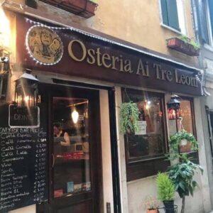 義大利威尼斯 Venice 城堡區 Sestiere Castello 必吃 - Antica Osteria Ai Tre Leoni