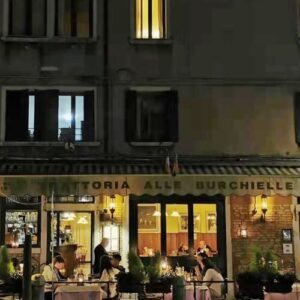 義大利威尼斯 Venice 聖十字區 Sestiere Santa Croce 必吃 - Trattoria Alle Burchielle