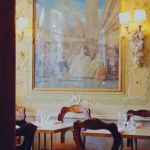 義大利威尼斯 Venice 聖馬可區 Sestiere San Marco 必吃 - Gran Caffè Quadri 油畫咖啡館