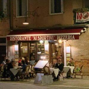 義大利威尼斯 Venice 多爾索杜羅區 Sestiere Dorsoduro 必吃 - Ristorante Ai Sportivi Pizzeria