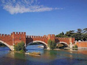 義大利威尼斯 Verona 維羅納 必玩 - Ponte di Castelvecchio = Ponte Scaligero 老城堡橋 = 斯卡利傑羅橋