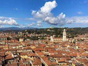 義大利威尼斯 Verona 維羅納 必玩 - Torre dei Lamberti 朗貝爾蒂塔