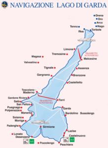 義大利威尼斯 Lago di Garda 加爾達湖 必玩 - Gestione Navigazione Laghi Italia 渡輪路線