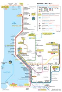 義大利威尼斯 Lago di Garda 加爾達湖 必玩 - ATV (Azienda Trasporti Verona Srl) bus routes