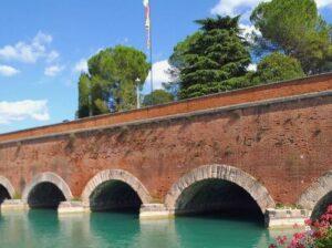 義大利威尼斯 Peschiera del Garda 佩斯基耶拉‧德爾‧加爾達 必玩 - Ponte dei Voltoni 沃爾托尼橋