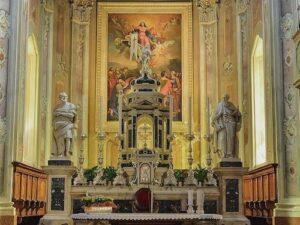 義大利威尼斯 里瓦∙德爾∙加爾達 Riva del Garda 必玩 - Chiesa Parrocchiale di S.Maria Assunta 聖瑪麗亞阿松塔教堂