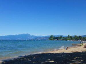 義大利威尼斯 拉齊塞 Lazise 必玩 - Lazise Beach Playground = Spiaggia Lazise海灘遊樂場